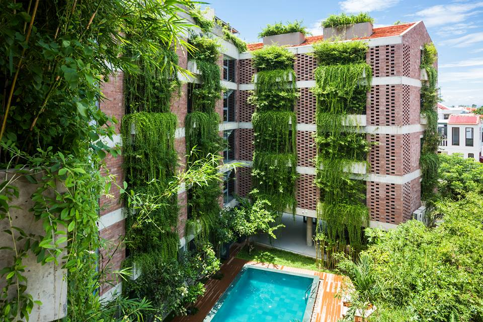 Atlas Hotel Hoian in the central province of Quang Nam. Photo courtesy of Hiroyuki Oki.