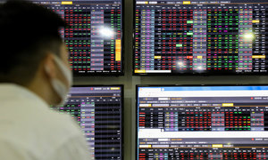 Three stocks at risk of losing blue-chip status