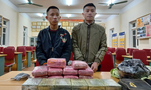 Two drug trafficking teens arrested in central Vietnam