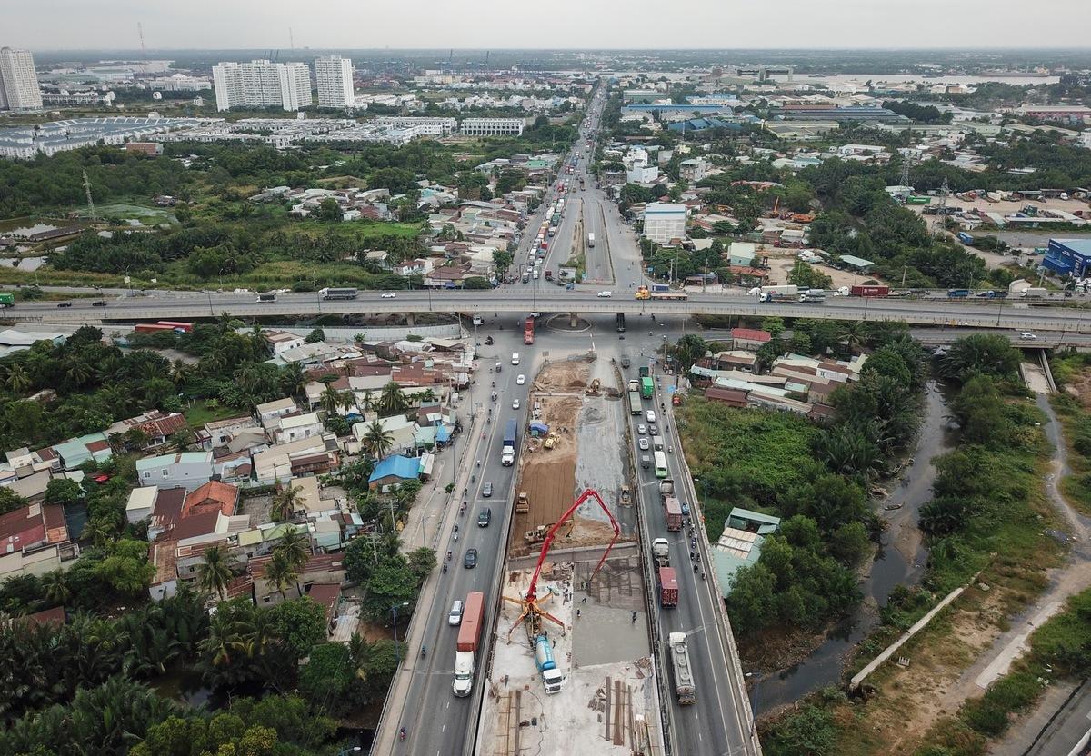 Eight traffic projects help Thu Duc City take shape