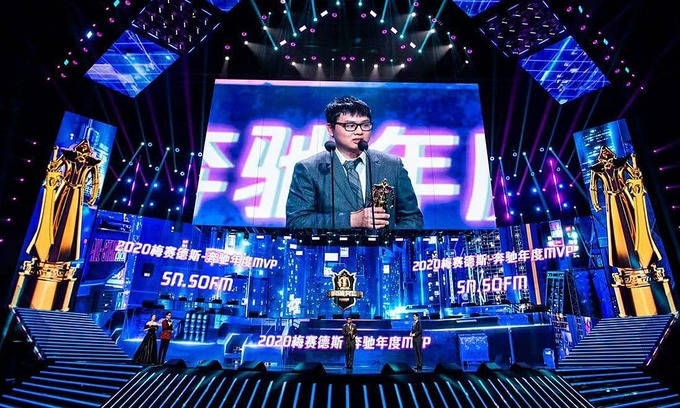 Vietnam's SofM wins China LoL of the year MVP award