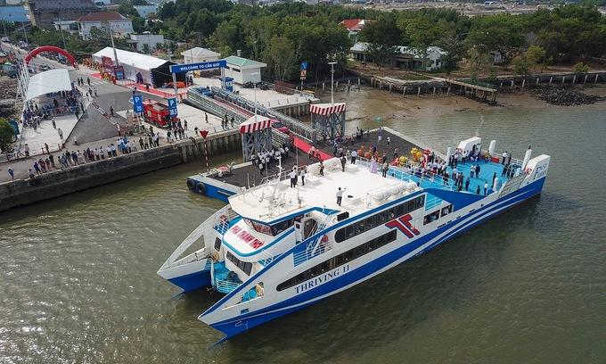 New HCMC-Vung Tau ferry service enters operation