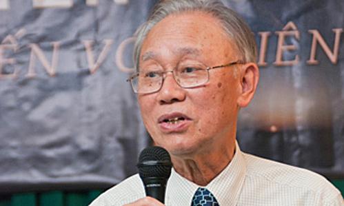 Professor Nguyen Quang Rieu in 2018. Photo by HAAC.