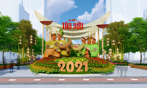 Artist impressions a sneak peak at Saigon flower street