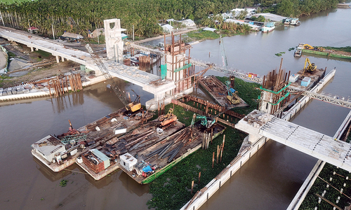 Mega irrigation system to help Mekong Delta tackle drought, salinity