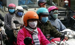 Saigon shivers as temperature falls to 19 degrees