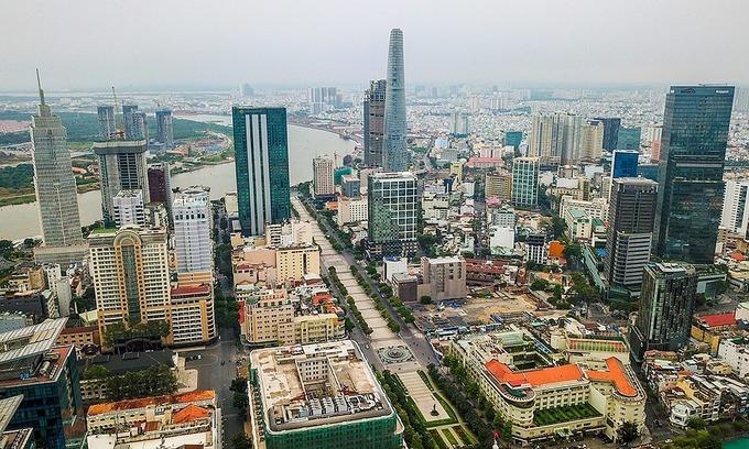 HCMC office buildings report surging vacancy rates