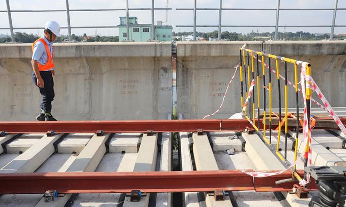 Another fault seen in HCMC metro line