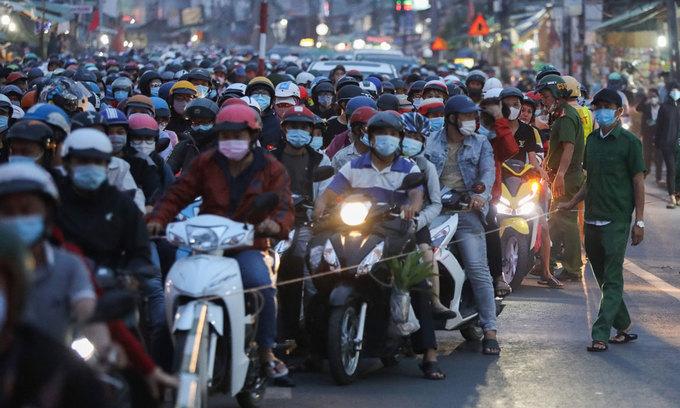 Motorbike sales slump, blamed on pandemic