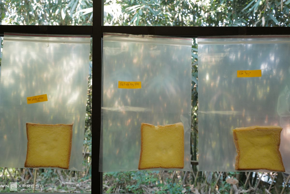 The tall-window design also helps students with many classroom experiments.