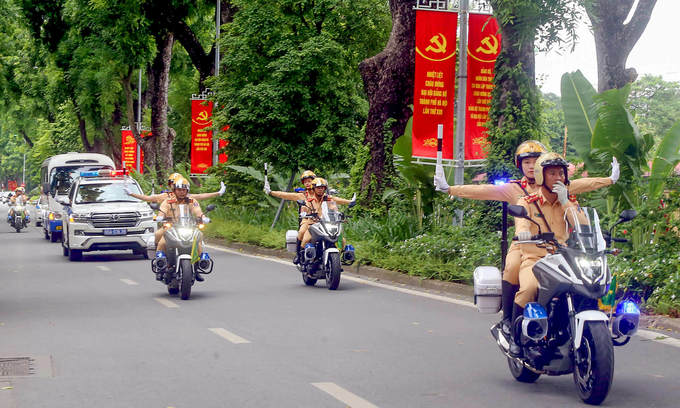 Hanoi to restrict downtown traffic for Party Congress