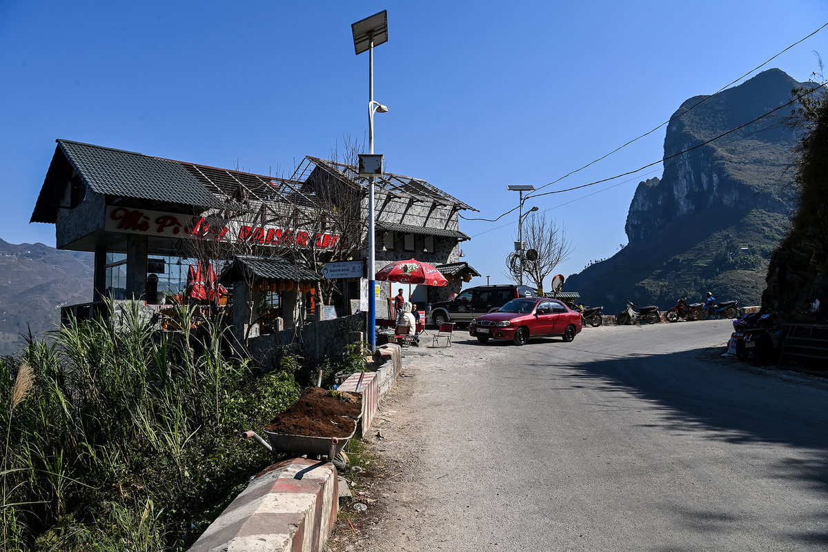 Controversial mountain pass restaurant asked to suspend operations