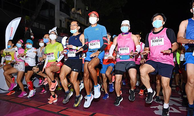 VnExpress Marathon Hanoi Midnight to return in November