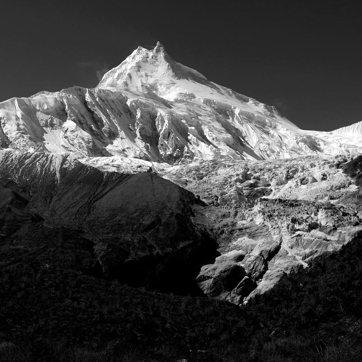 The mountain of the spirit, Manaslu is the eighth-highest mountain in the world at 8,163 meters above the sea level.