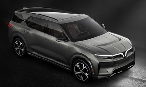 VinFast introduces self-driving car models