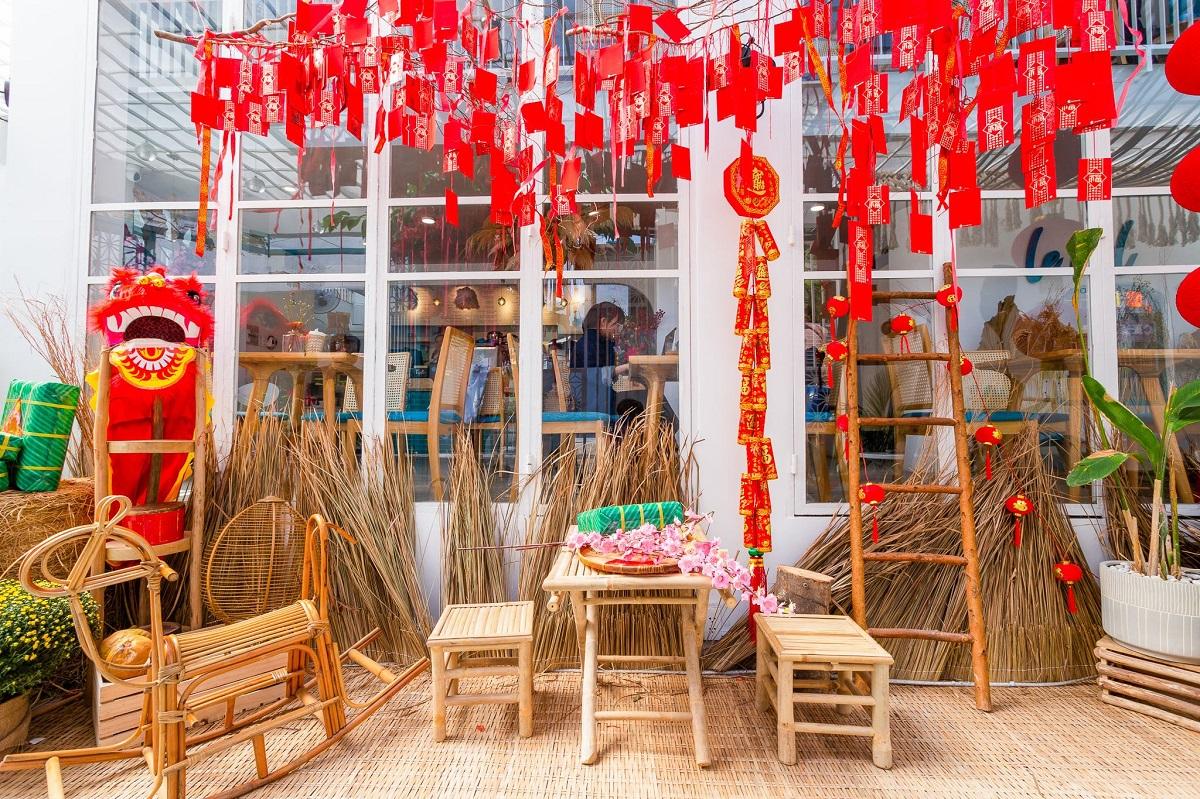 Tet joy begins to pervade Saigon cafes - 6