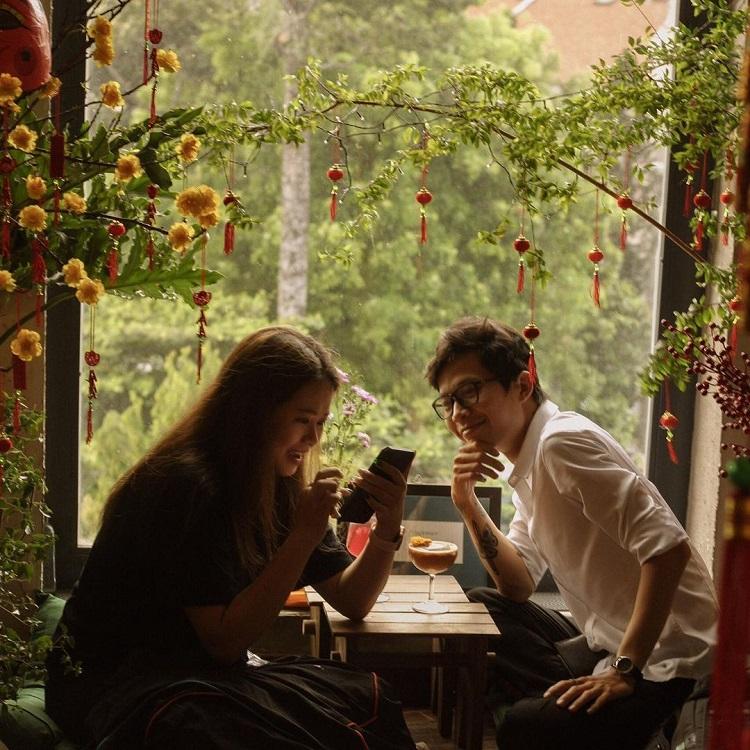 Tet joy begins to pervade Saigon cafes - 12