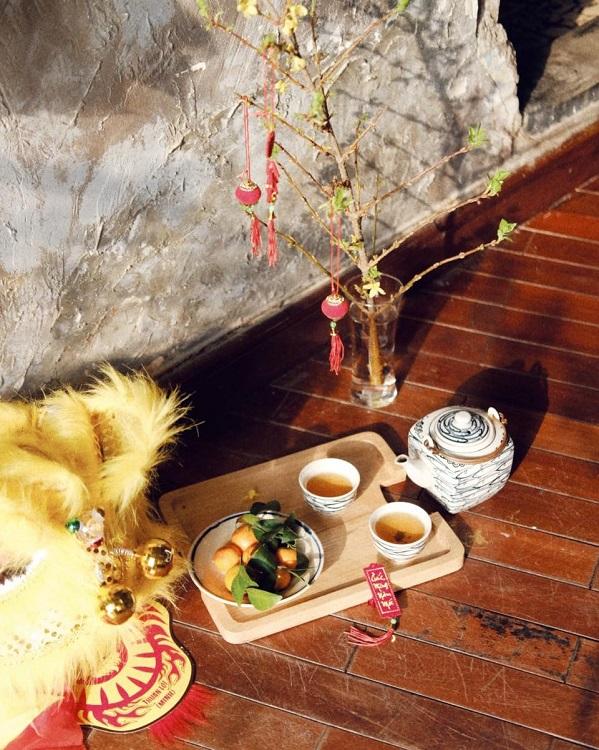 Tet joy begins to pervade Saigon cafes - 14