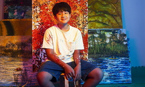 Vietnam's 13-year-old Pollock just enjoys bold colors