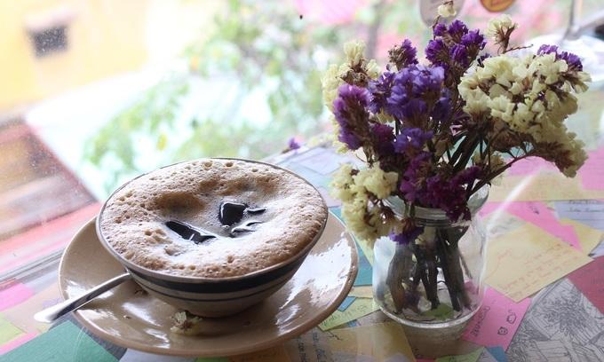 Chinese herbal coffee in Saigon