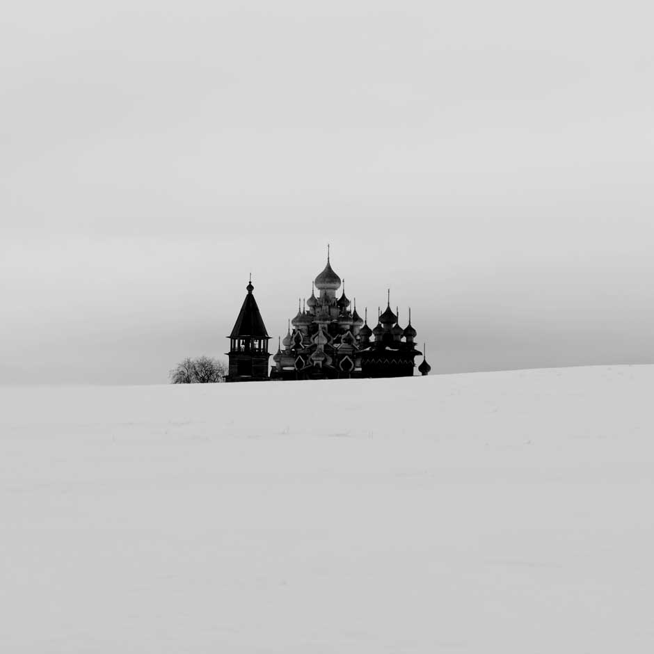 On a return trip to Siberia, Trinh traveled to Karelia to visit Kizhi Island.  Karelia is an indispensable destination on an arctic circuit trip. Siberia is so large, I could not see it all in only one or two winters, the photographer said.  There was only me, the 18th century wooden churches, the clock tower and land, all totally covered by snow. What could be more perfect?After creating seven projects based on his journeys, Trinh plans to visit Northern Africa, Scandinavia and the other parts of the world in the next few years.