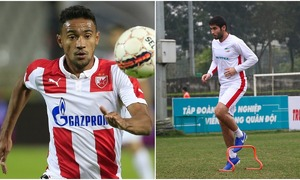 Viettel FC sign two new foreign players from Brazil, Uzbekistan