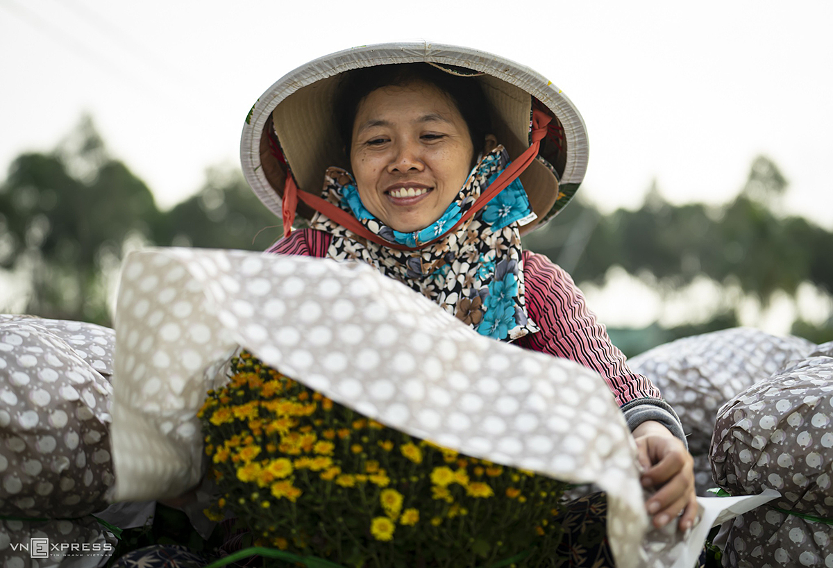 Farmers here have been growing flowers and bonsai plants for more than 100 years. Their annual peak season, of course, is the Tet festival, which peaks on February 12 this year.