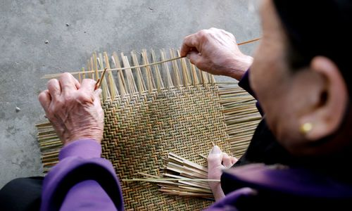 Where weaving baskets remains a way of life