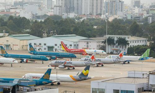 Airport operator profits down sharply