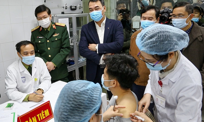 Hanoi seeks to cover Covid-19 vaccination for all residents