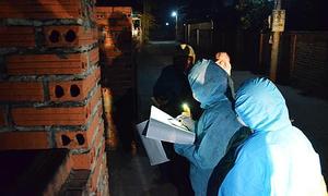 Medics brave inclement weather to track coronavirus