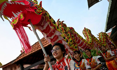 Dragon dancers scale up ambitions in Vietnam