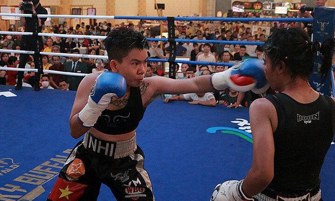 Vietnamese fighter's WBO match postponed due to Covid-19