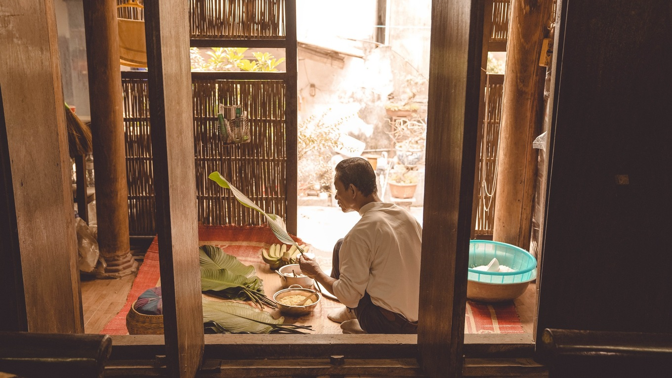 Photos showcase the charm of Tet preparation in Vietnams countryside - 2