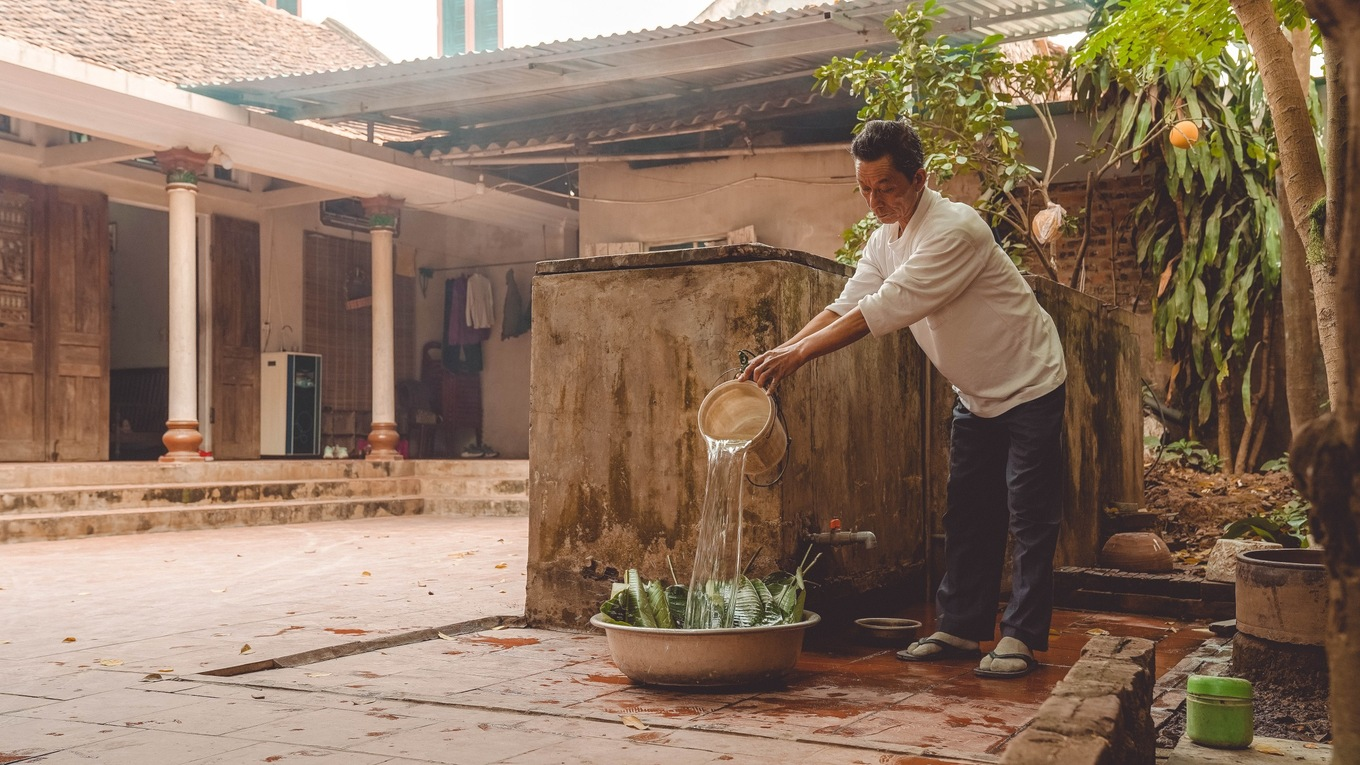 Photos showcase the charm of Tet preparation in Vietnams countryside - 4