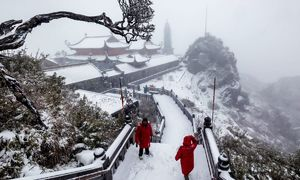 Move over White Christmas, welcome White Tet in Sa Pa