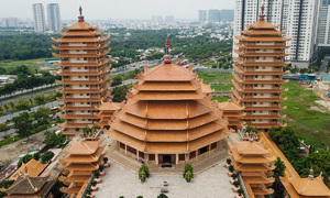Two pagodas with national records in HCMC's new Thu Duc City