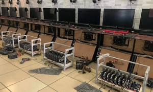 Amid pandemic, Internet cafes turn to cryptocurrency mining for profit