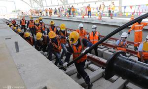 First Saigon metro line gets power