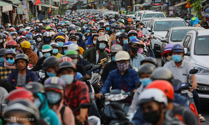 HCMC blames motorbike population for 'alarming' pollution