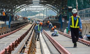 Saigon 1st metro line completion pushed back to 2022