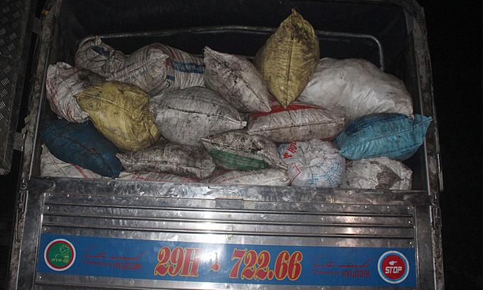 Central Vietnam police bust stale lard recycling operation