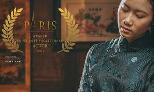 Vietnamese actress claims top honors at Paris International Film Festival