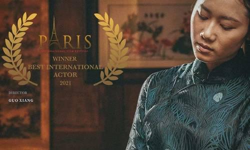 Vietnamese actress claims top honors at Paris International Film Festival