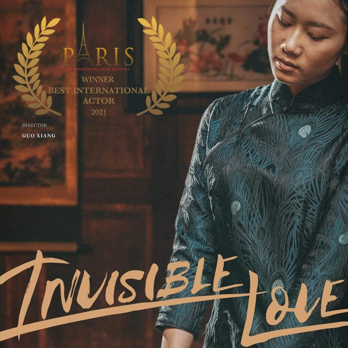 Invisible Love poster. Photo courtesy of the movie.