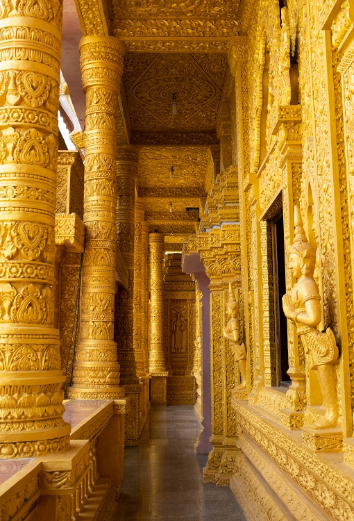 Four serene Khmer pagodas to explore in Soc Trang - 16