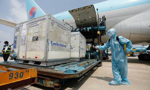 AstraZeneca Covid-19 vaccine batch lands in HCMC