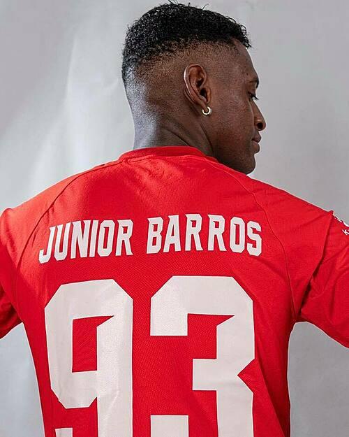 Junior Barros in HCMC FC jersey. Photo courtesy of HCMC FC.