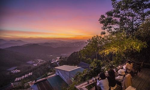 A breathtaking hillside glimpse of Da Lat
