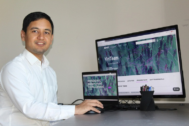 Amir Banifatemi, General Manager for Innovation and Growth of Vinbrain in US.